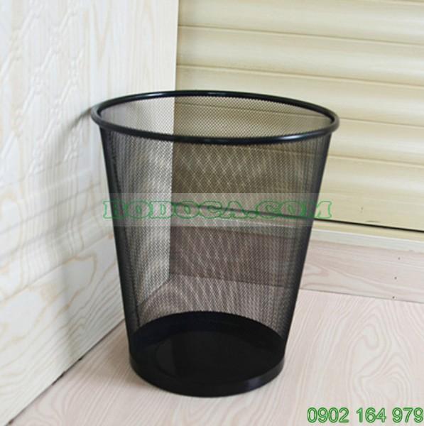 Rổ đựng rác lưới thép phun sơn bodoca KL-56