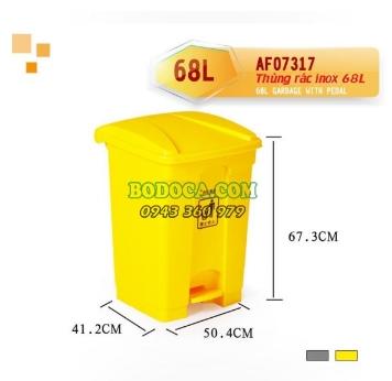 Thùng rác 68Lit công nghiệp AF07317