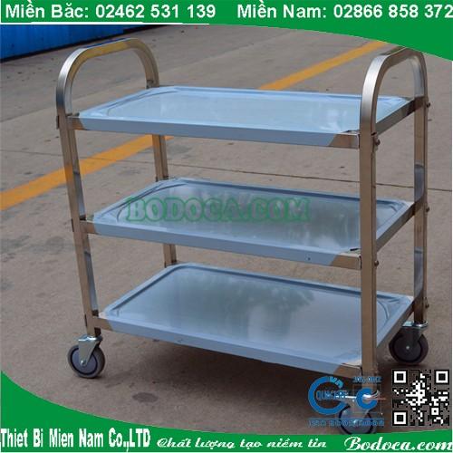 Xe đẩy nhà hàng inox AF08164