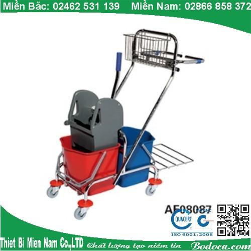 Xe Đẩy Vắt Nước Cây Lau Nhà 2 Ngăn AF08087
