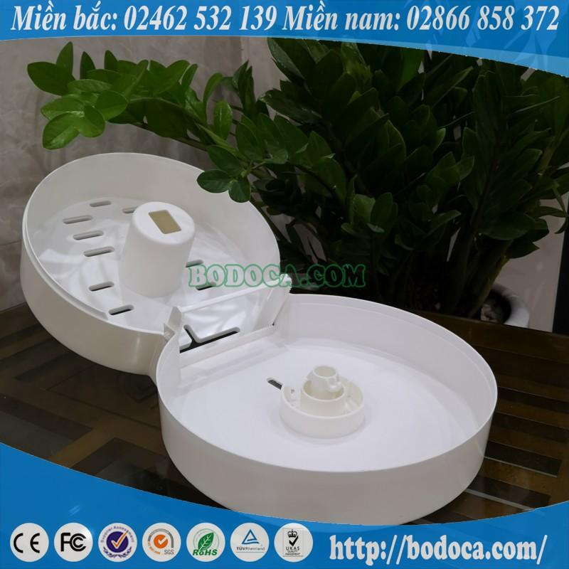 Hộp giấy vệ sinh tròn Bodoca AF10522
