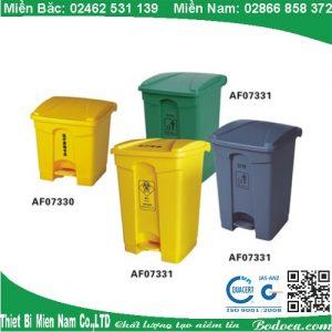 Thùng rác đạp chân nhựa 45L AF07331