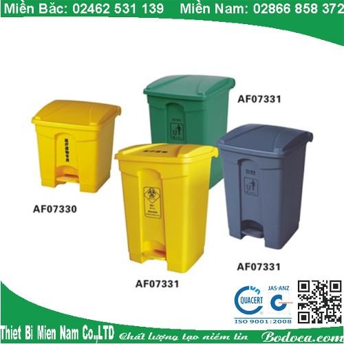 Thùng rác nhựa 68L bodoca AF07317