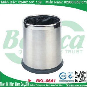 Thùng rác inox văn phòng KL-06A1
