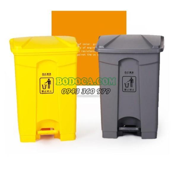 Thùng rác nhựa đạp chân 45L