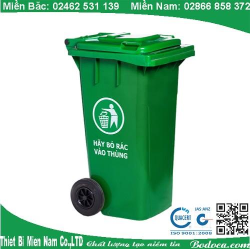Thùng rác nhựa Bodoca 120L AF07321