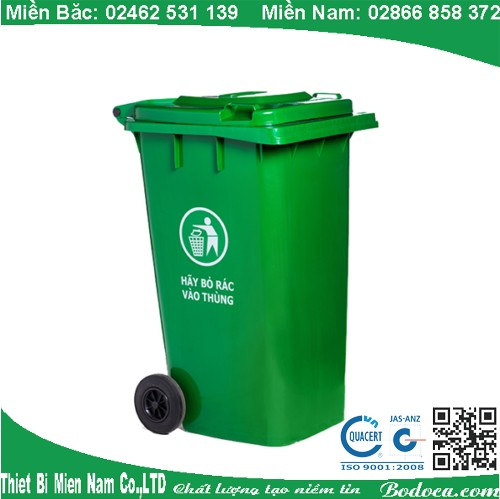 Thùng đựng rác nhựa 240L