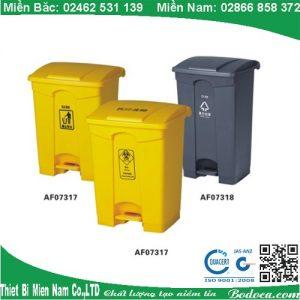 Thùng rác nhựa đạp chân 87 Lít