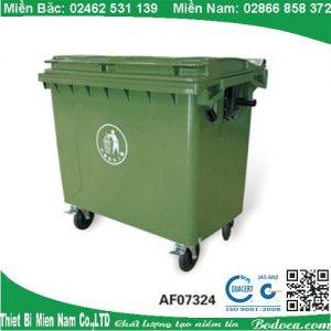 Thùng Rác Nhựa 660 Lít Giá Tốt