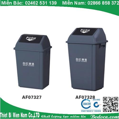 Thùng Rác Nhựa Nắp Lật Bền và cao cấp 25 Lít