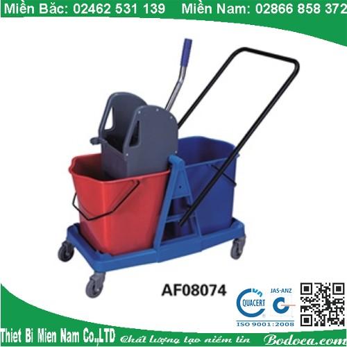 Xe vệ sinh 46L khung nhựa AF08074