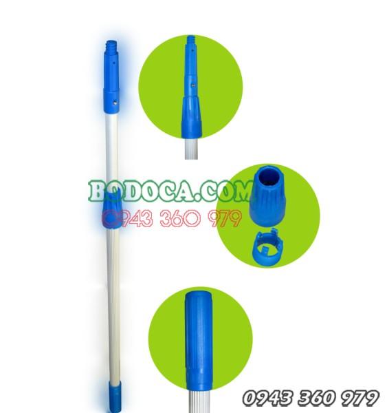 Cây nối dài vệ sinh kính inox 2m4