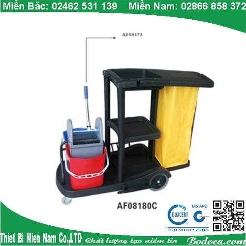 Xe đẩy dọn vệ sinh Bodoca AF08180C
