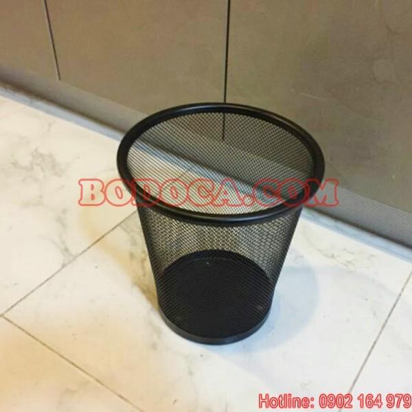 Rổ đựng rác lưới văn phòng tròn KL-56