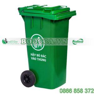 Bán Thùng Rác Nhựa 120 Lít