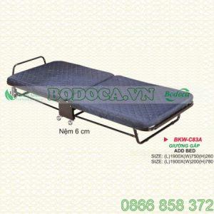 Giường gấp nệm 6m BKW-C83A