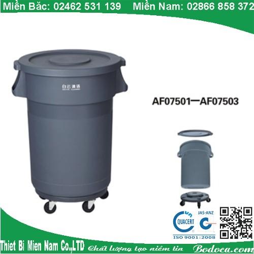 Thùng rác nhựa nhà bếp 80l AF07503