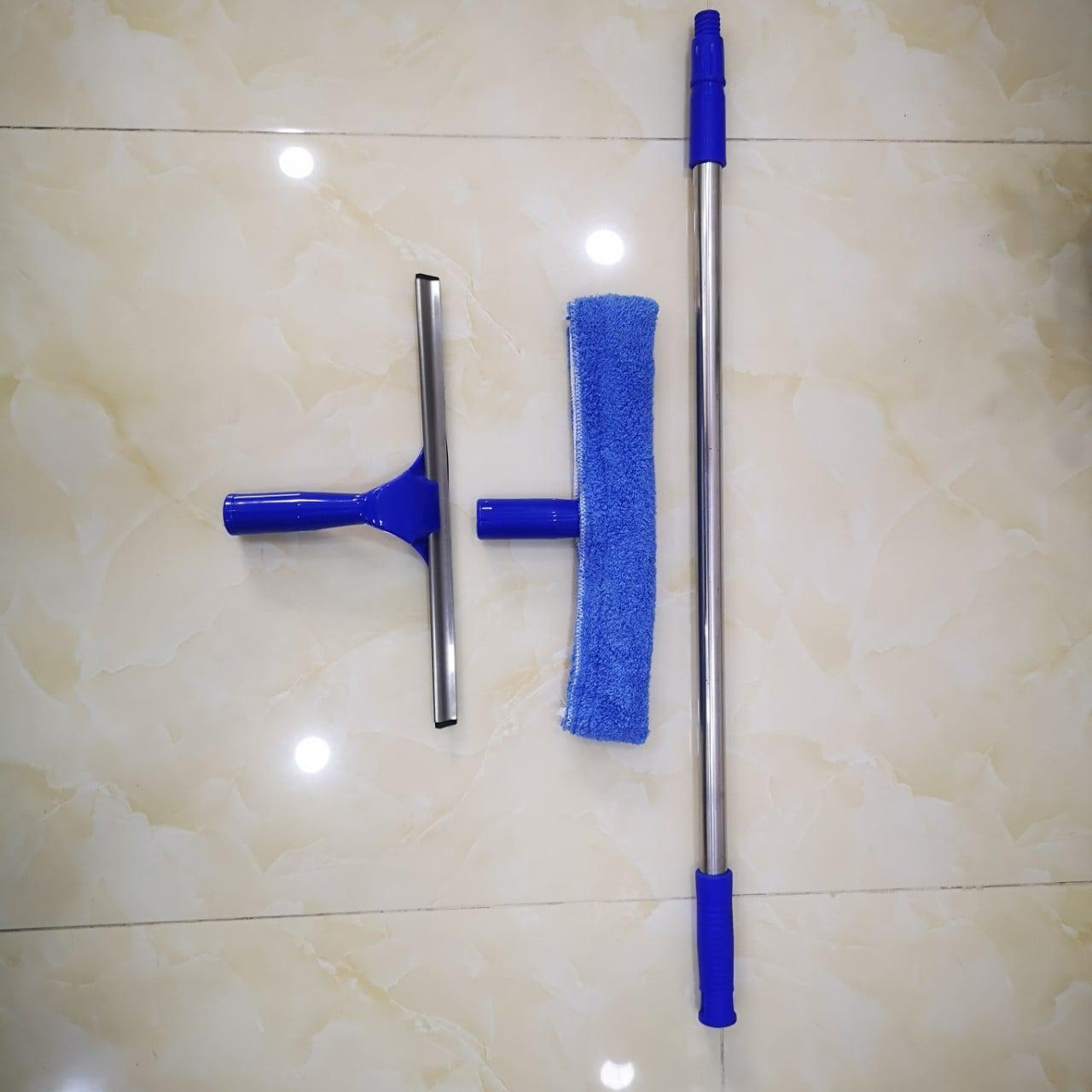 Bộ dụng cụ lau kính chuyên nghiệp cây dài 3m