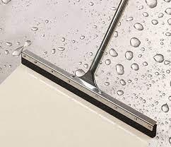 Cây đẩy gạt nước sàn lưỡi cao su kẹp inox 60cm